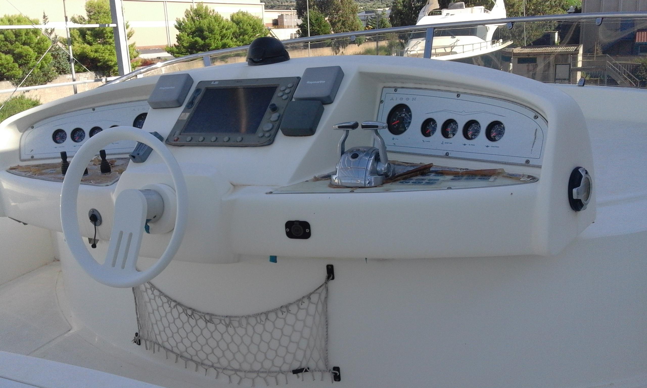 Imbarcazione Aicon Fly 56-136