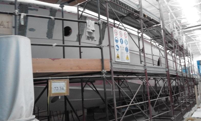 Imbarcazione Aicon Fly 72-34