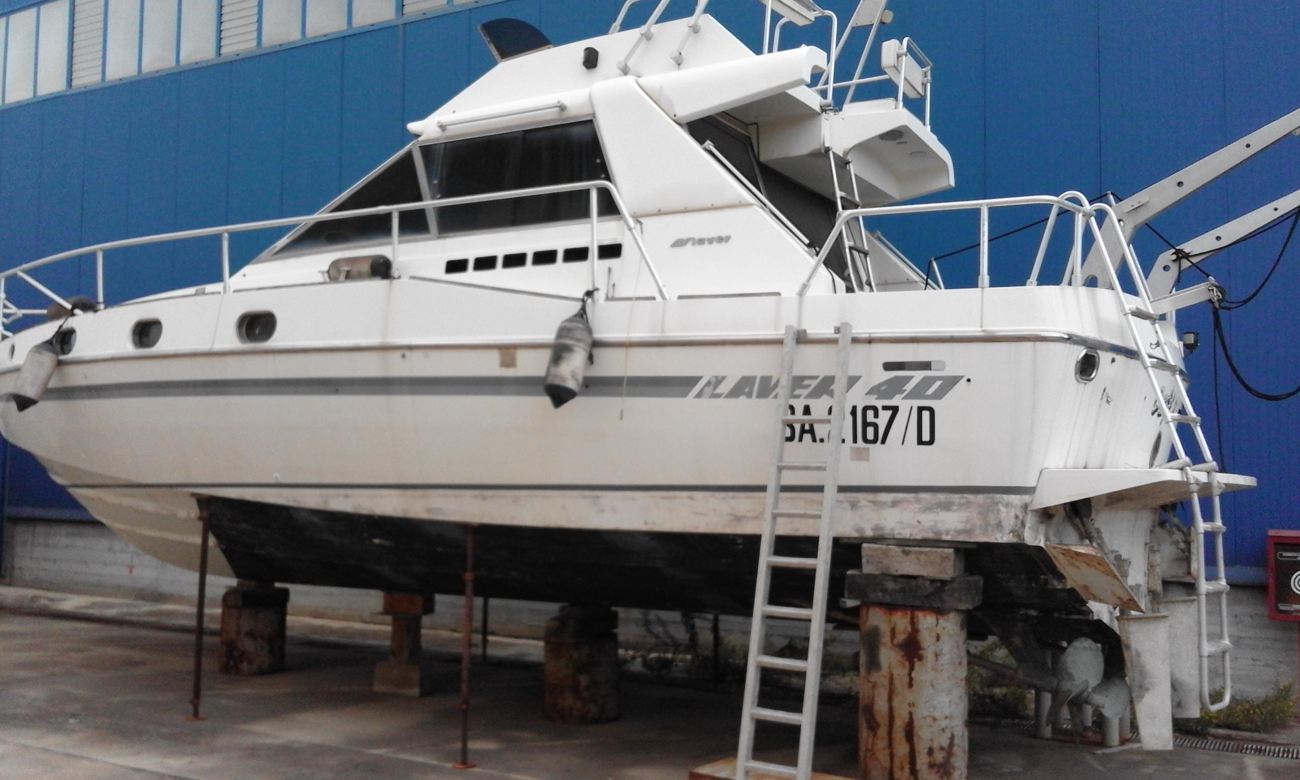 Imbarcazione Laver 40