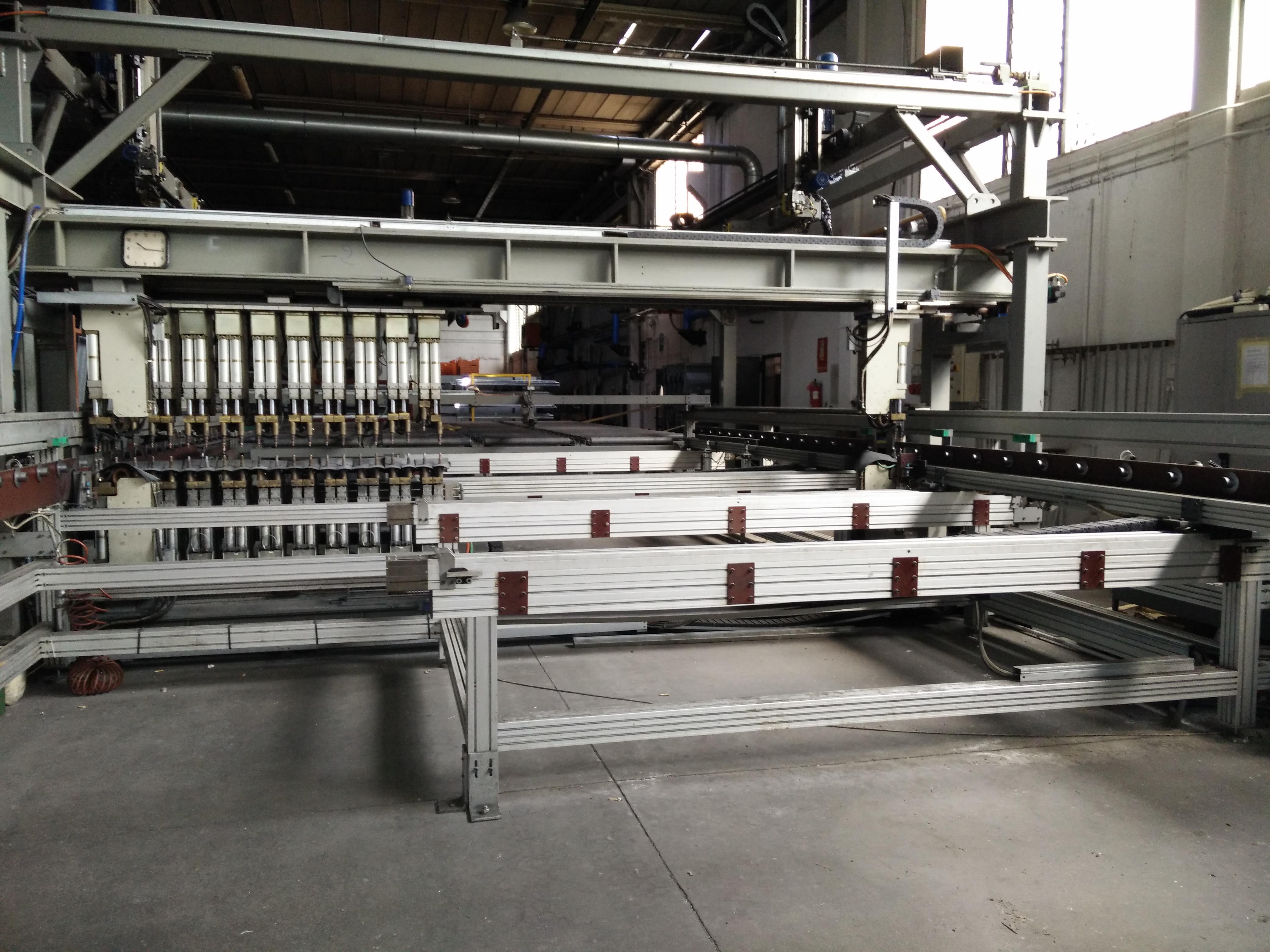 Linea di produzione ed Impianto saldature