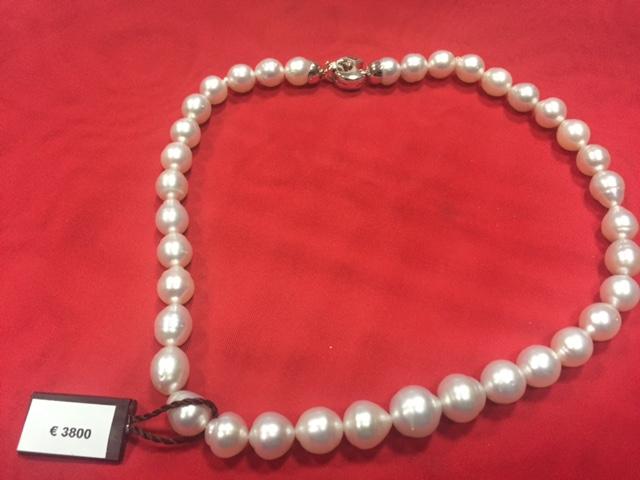 RIF. 428 Collana perle