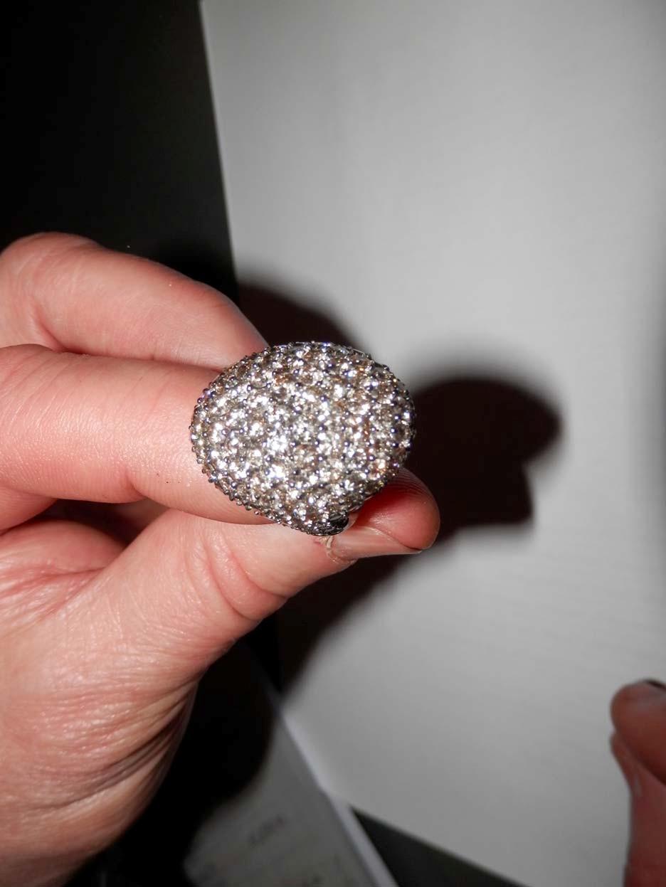 Anello diamanti brown