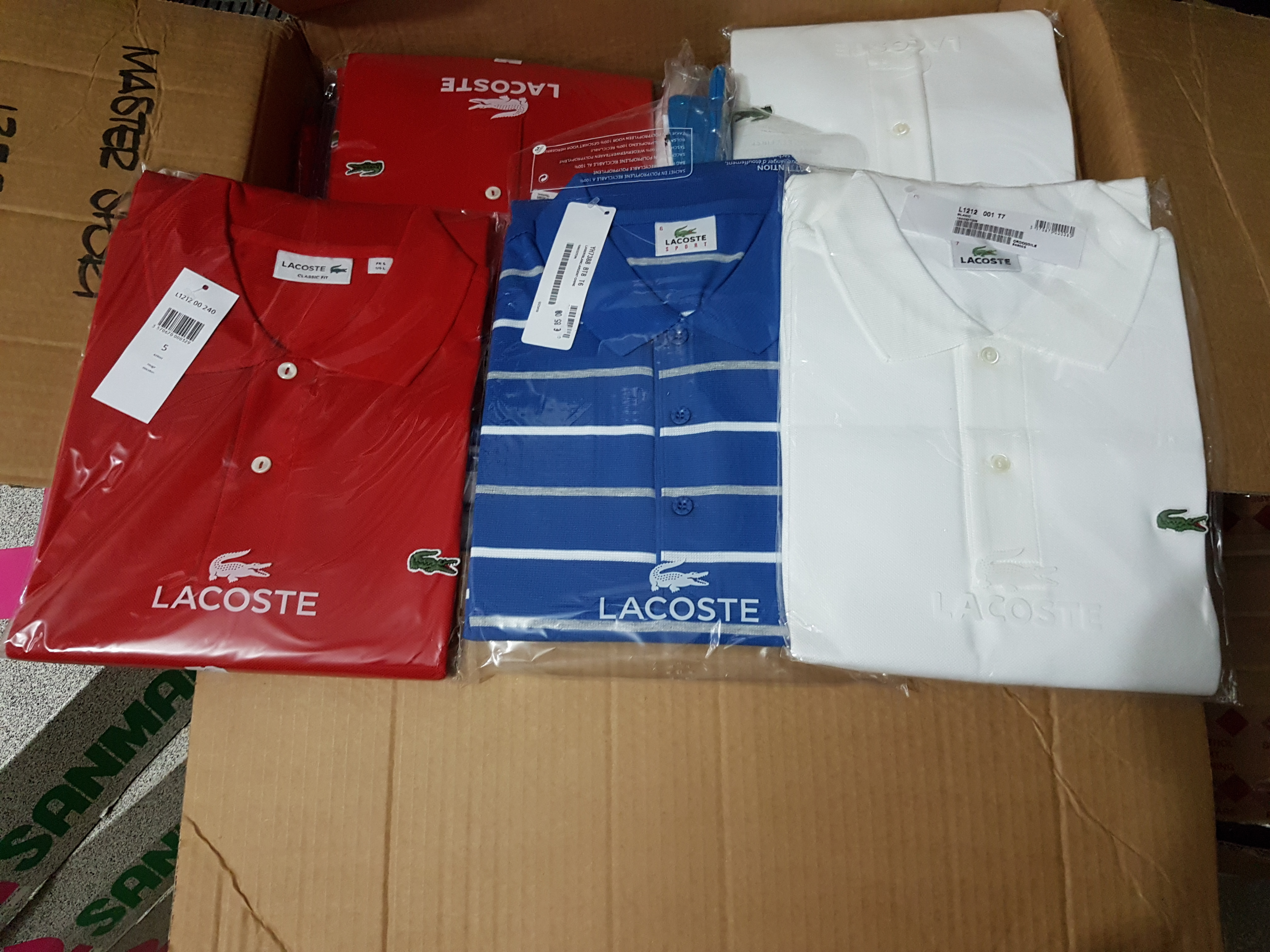 N.° 197 POLO ' LACOSTE '