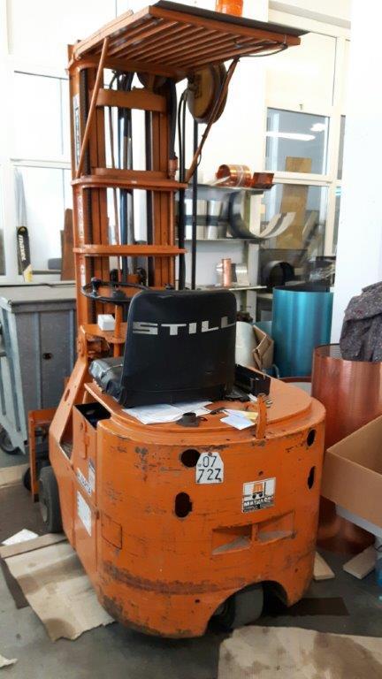 muletto elettrico / Gabelstapler