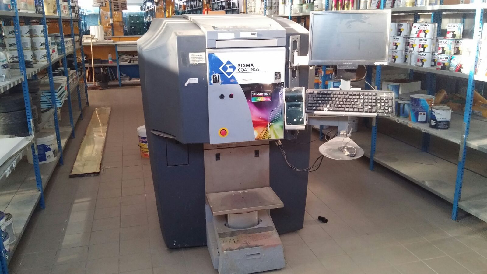 Tintometro Fast e Fluid Management