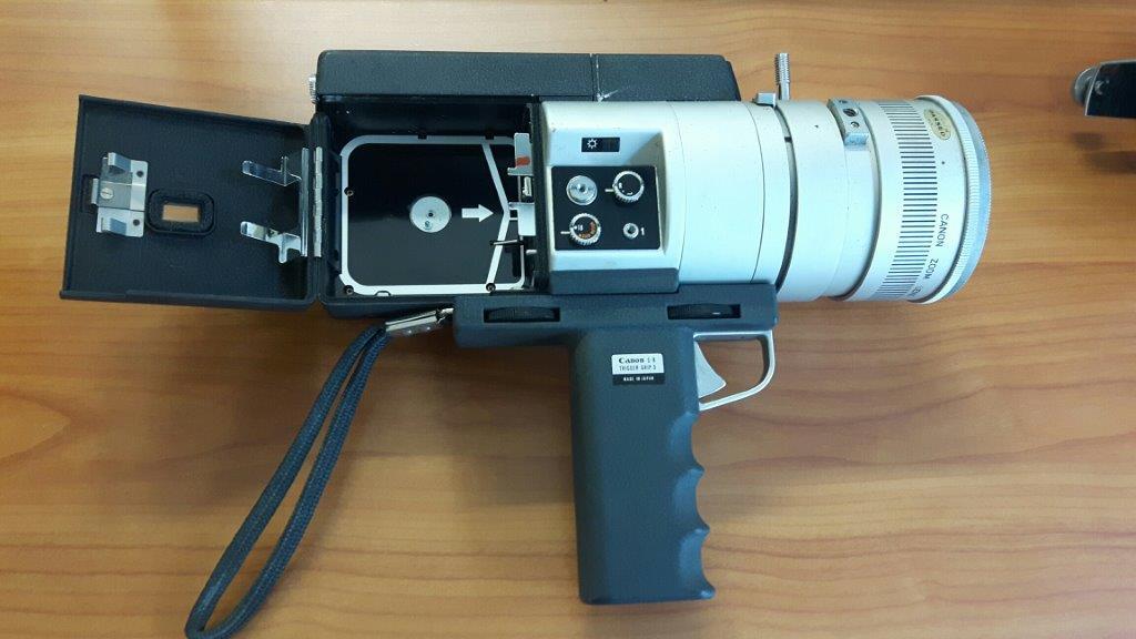 Telecamera professionale / Professionelle Kamera Canon super 8