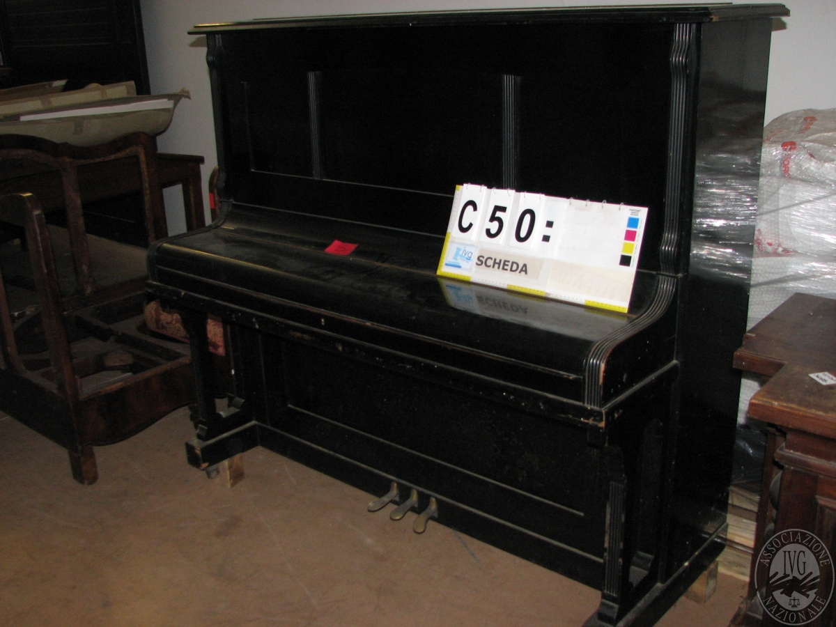 PIANOFORTE AUTORE S. A. Mordskeld (con meccanic...