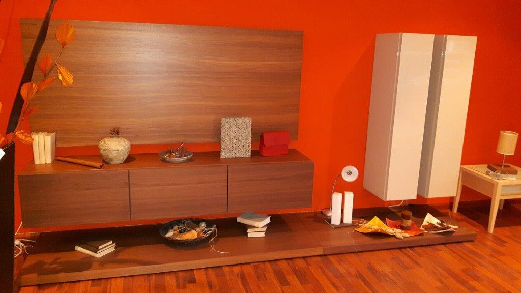mobile salotto in legno noce / Wohnzimmerschran...