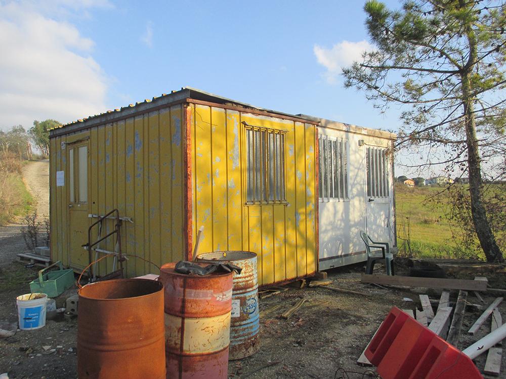 Box Cantiere, Telai per ponteggi, pedane, accessori e baracche da cantiere