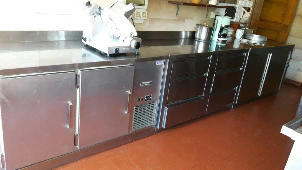 arredamento cucina acciaio inox / Edelstahl Küchenmöbel