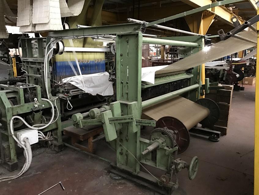 Macchinari per la lavorazione del filato e dei tessuti