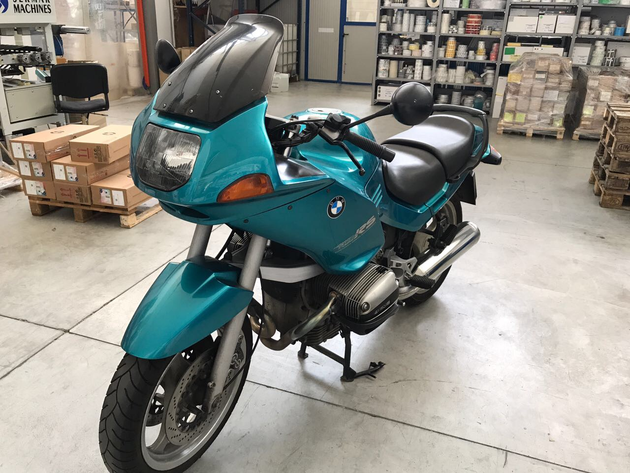 Motociclo Bmw R1100 RS