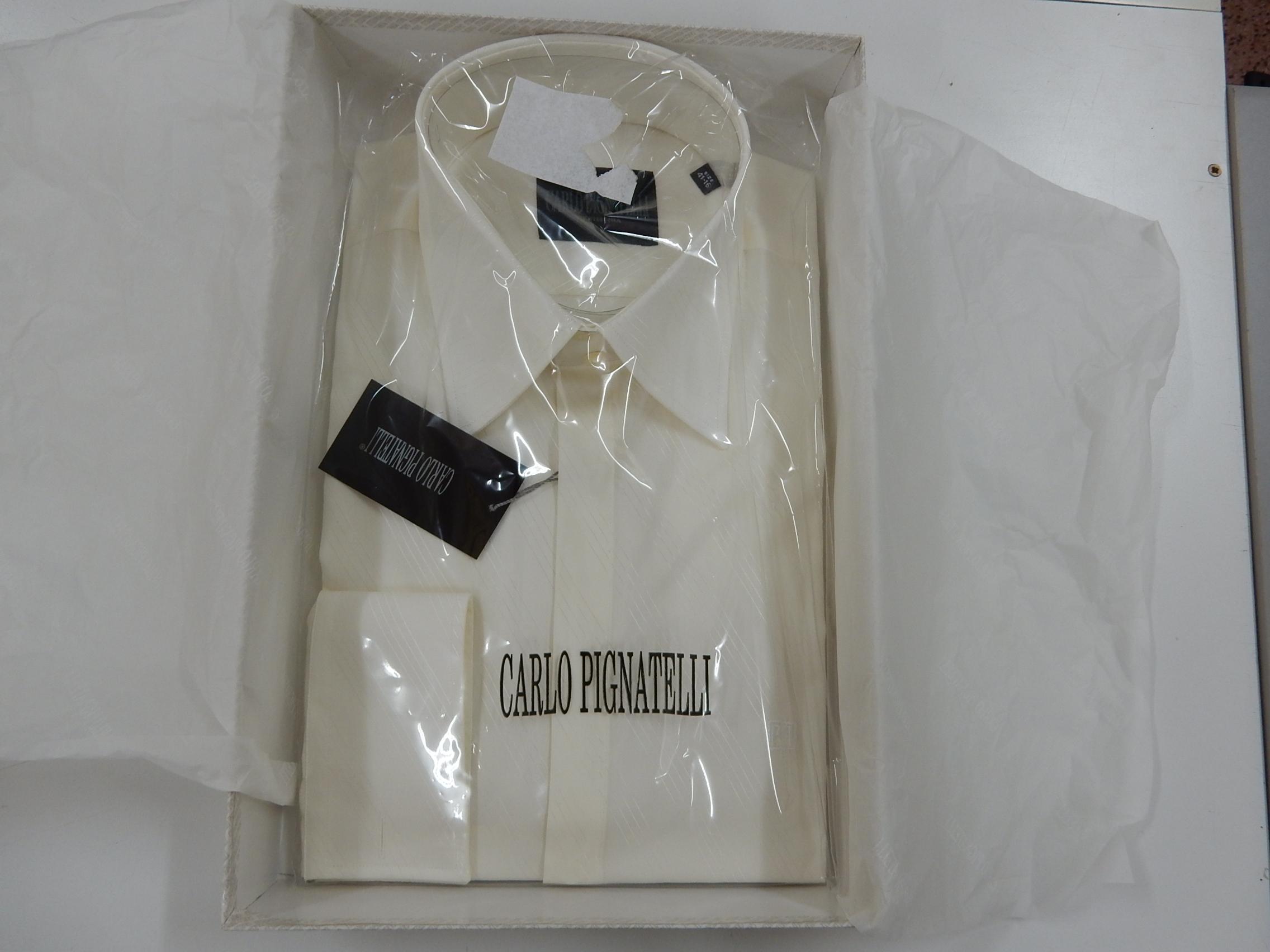 Rif. 19) Camicia Carlo Pignatelli taglia 41