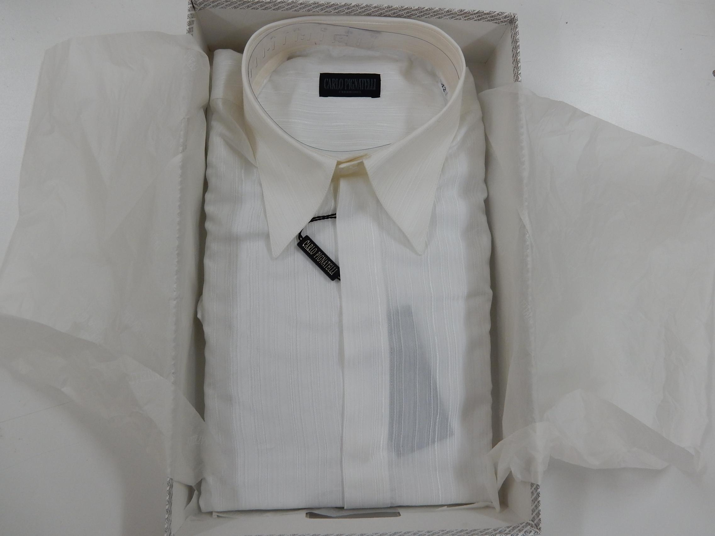 Rif. 21) Camicia Carlo Pignatelli taglia 42