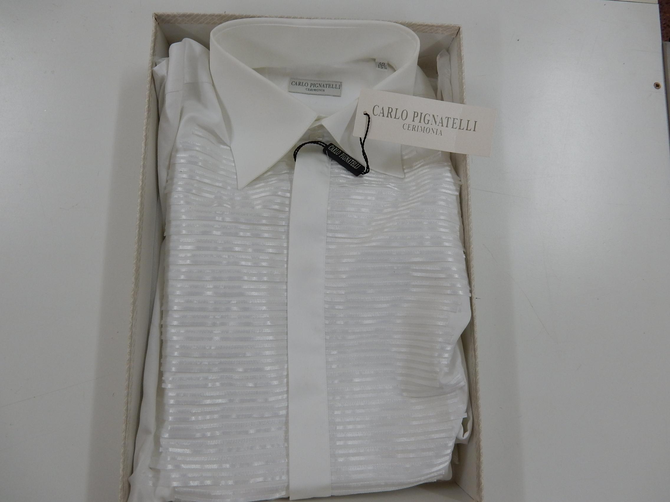 Rif. 11) Camicia Carlo Pignatelli taglia 40