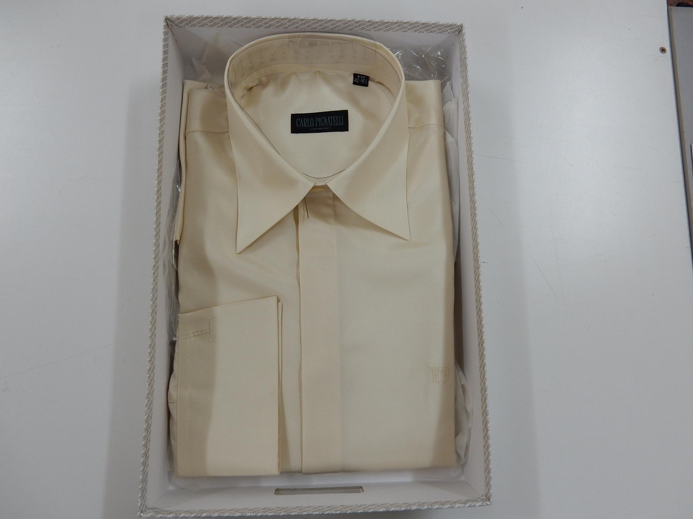 Rif. 22) Camicia Carlo Pignatelli taglia 42