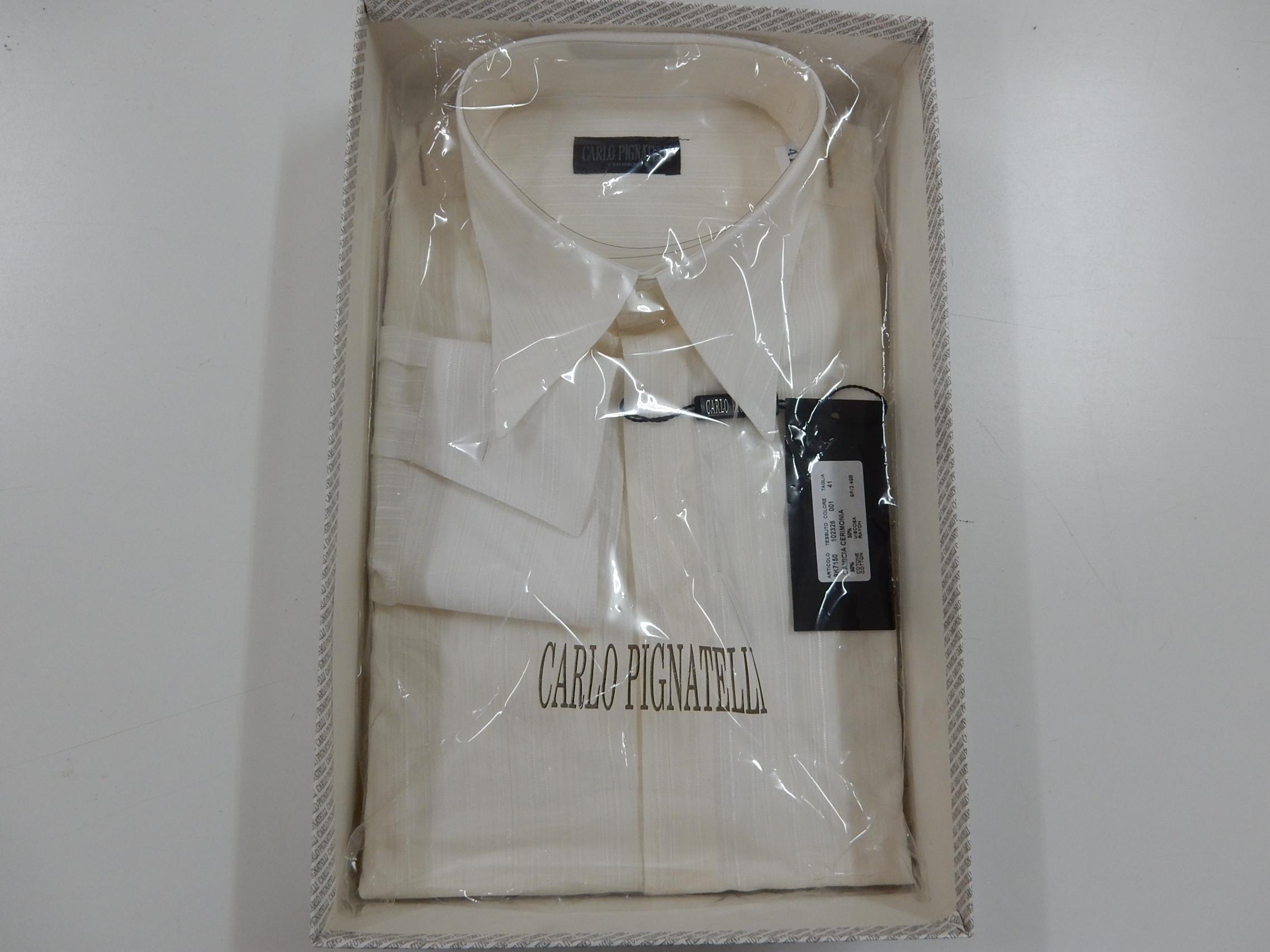 Rif. 23) Camicia Carlo Pignatelli taglia 41