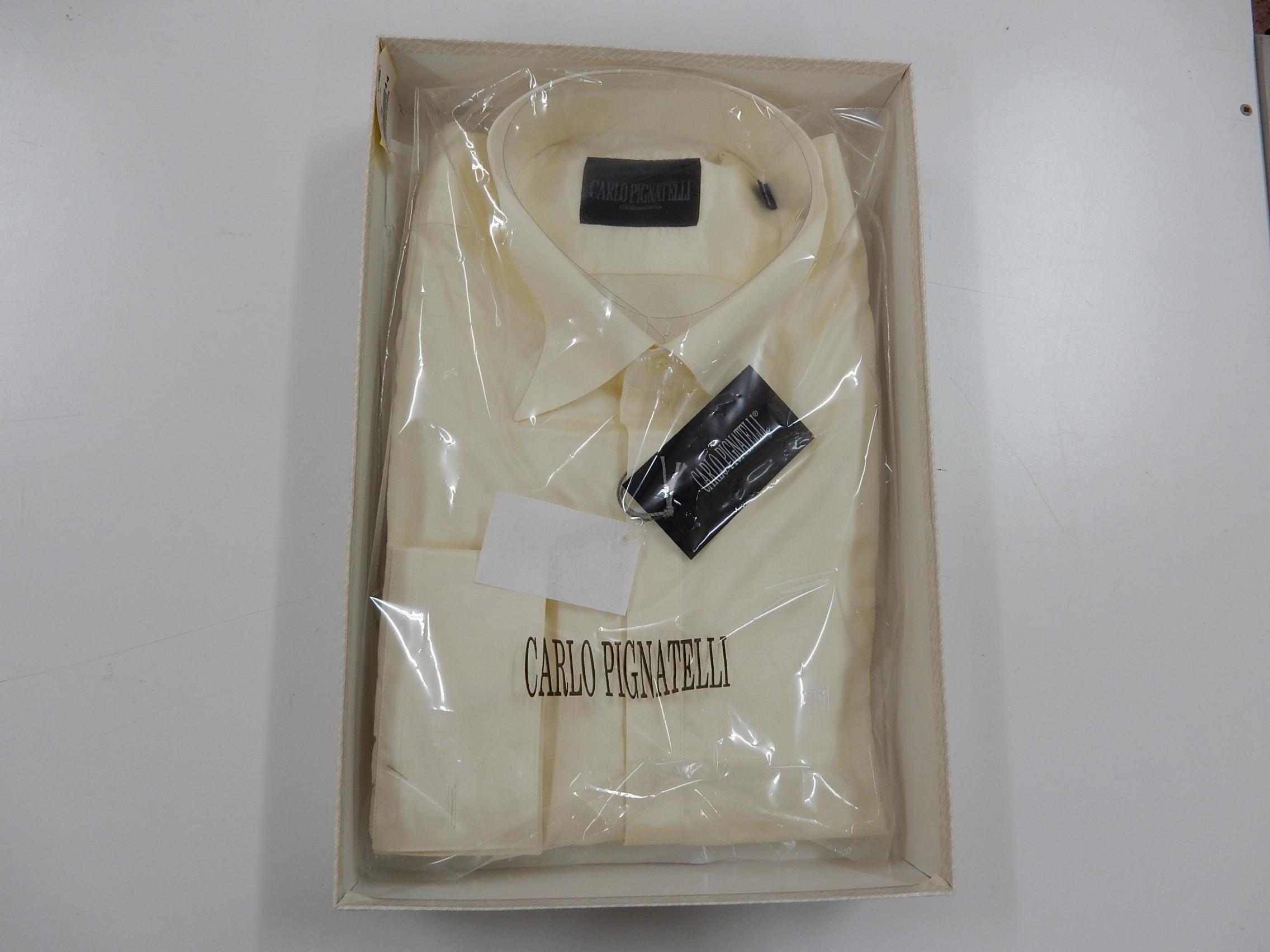 Rif. 25) Camicia Carlo Pignatelli taglia 44