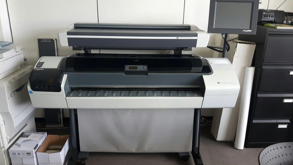 1 HP – Design Jet T 1200 HD Multifunction Printer