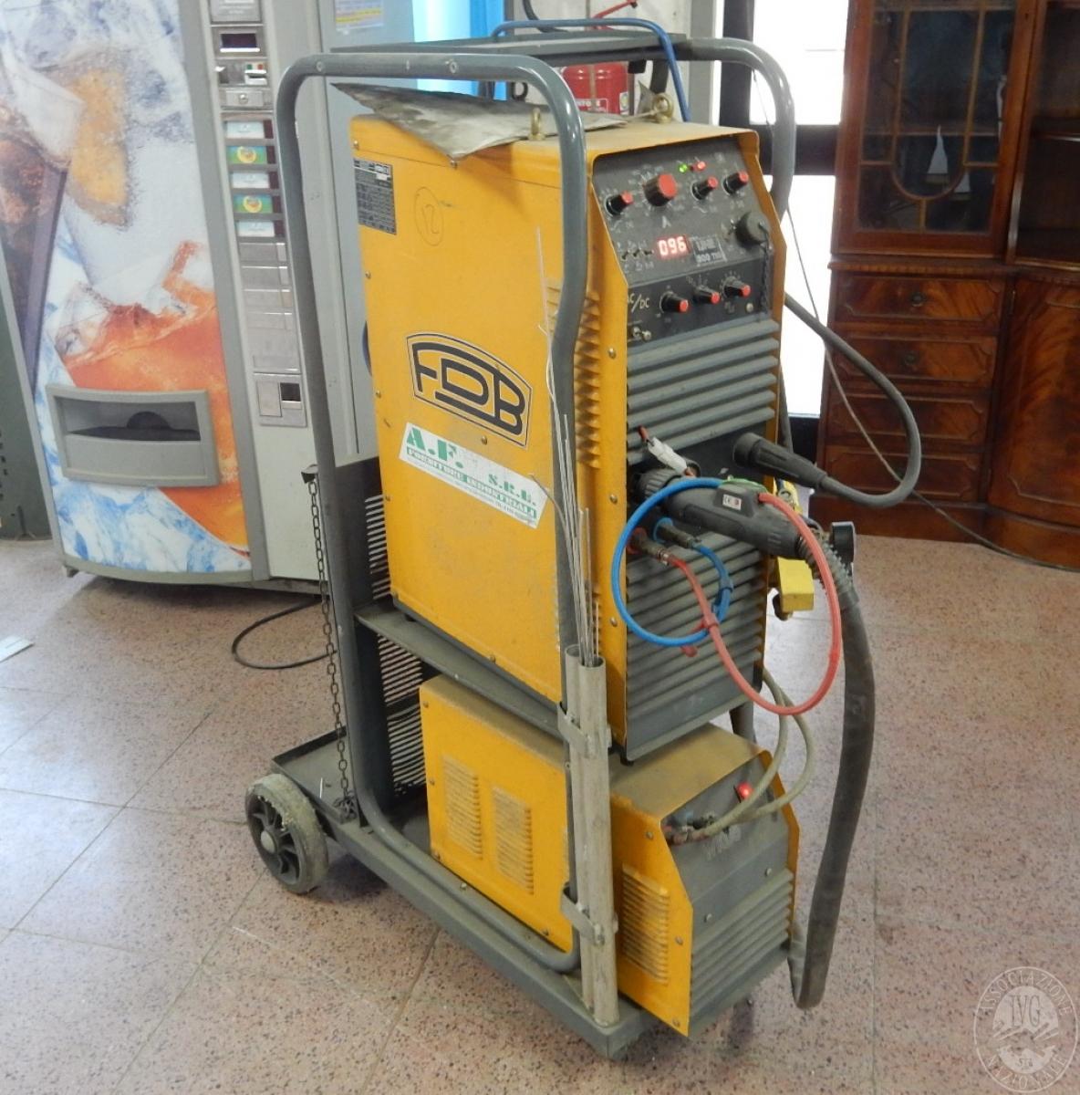 Rif. 12) Saldatrice FDB Line 300 TIG AC/DC