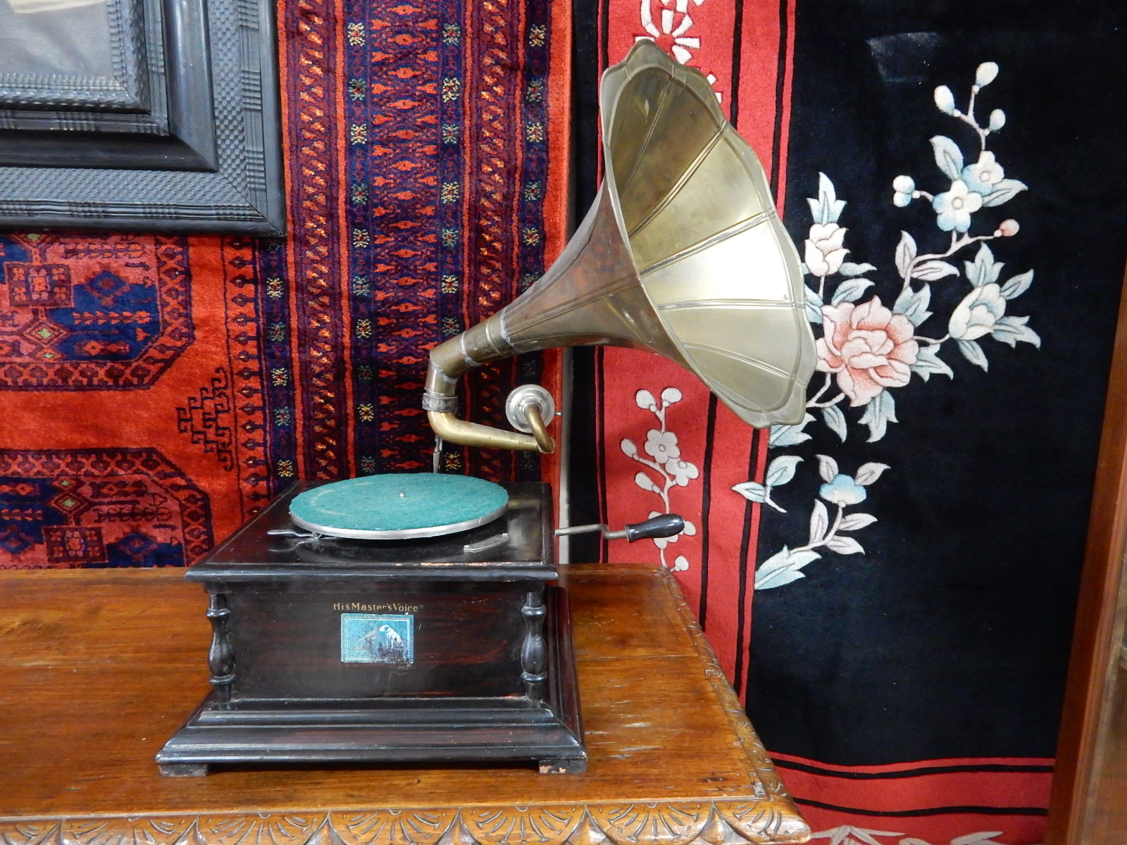 Grammofono HIS MASTERS VOICE