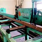 linea di taglio e foratura Rusch
