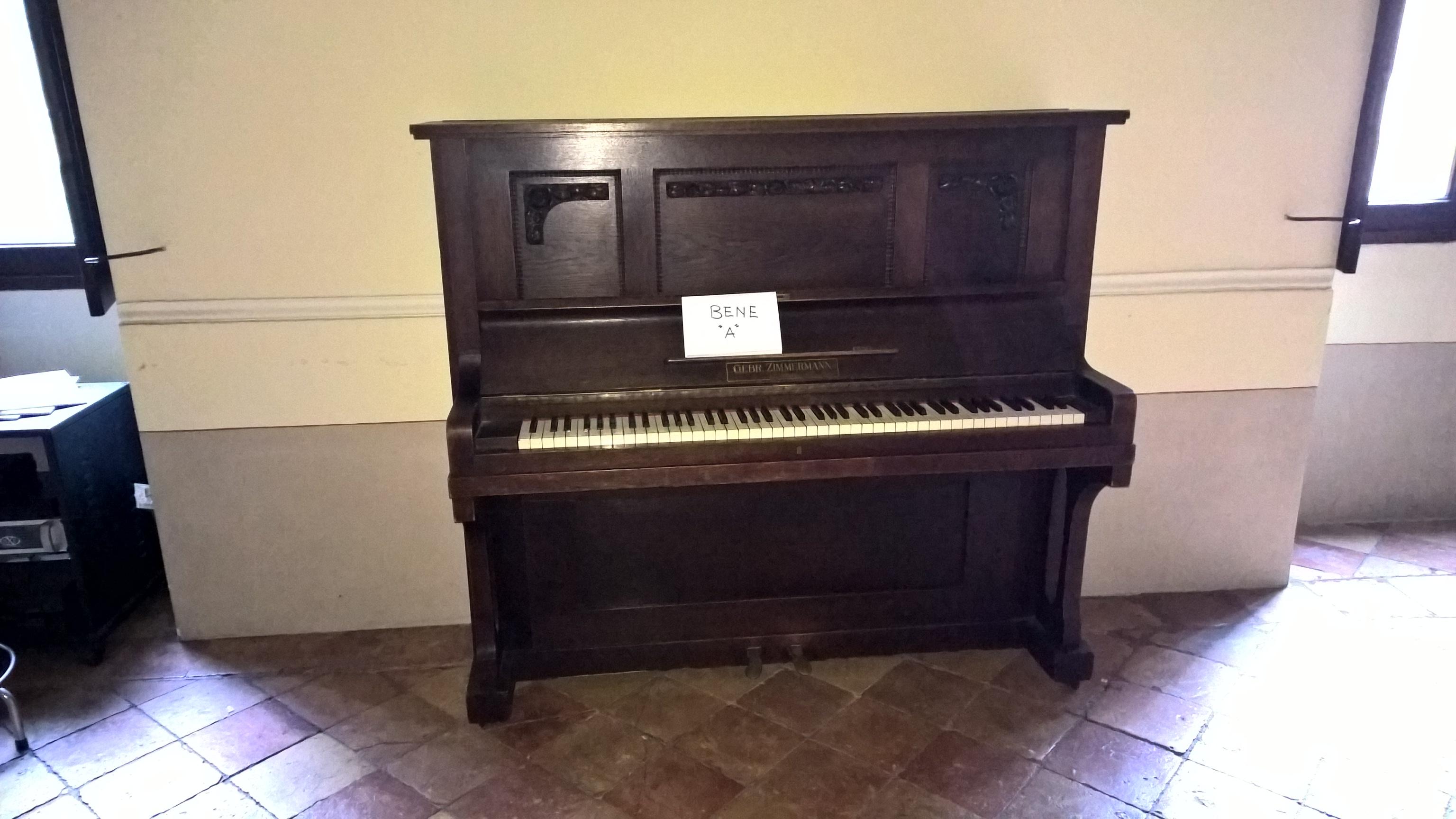 PIANOFORTE ANTICO - PRIMA META' DEL 1900
