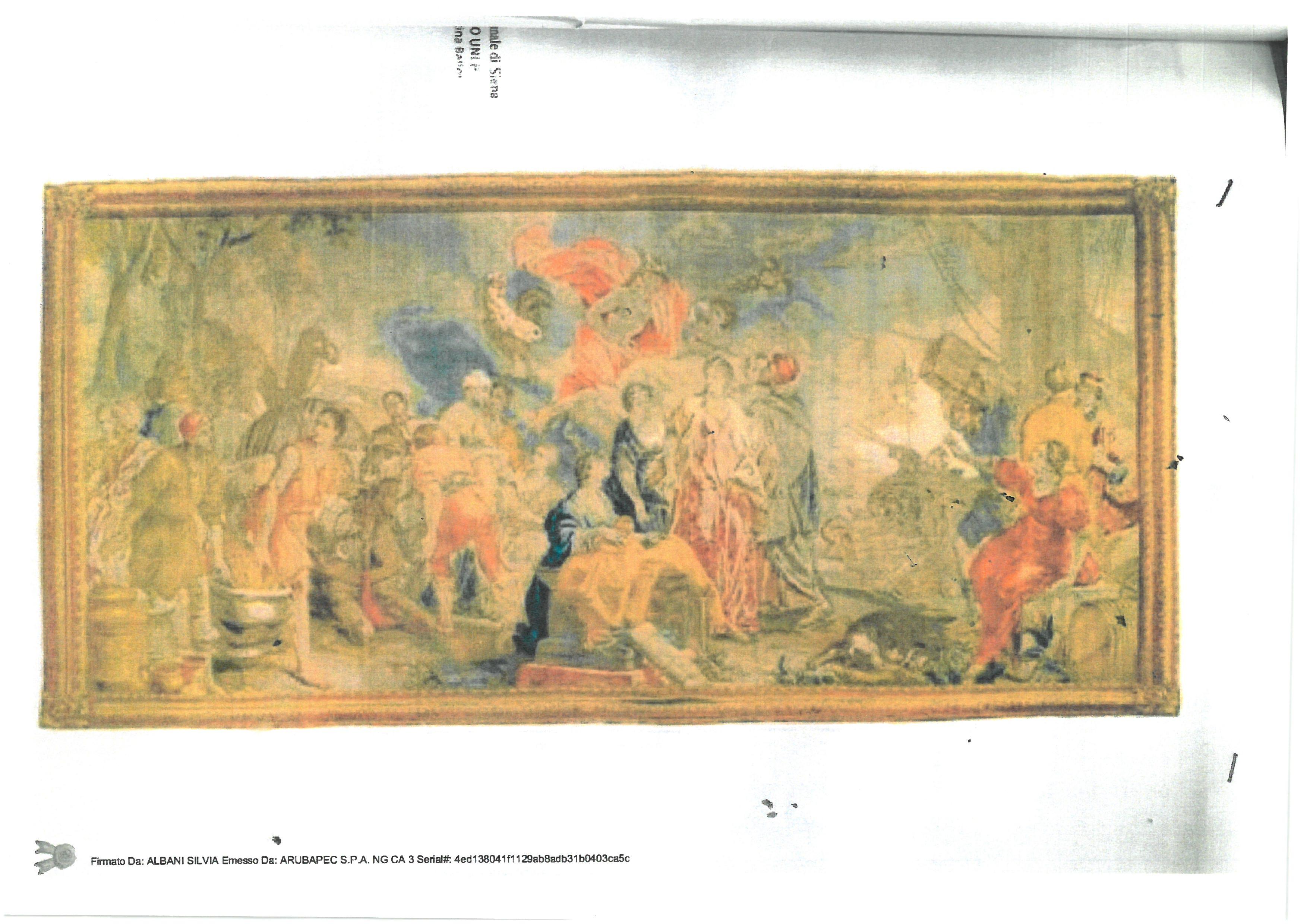 """ARAZZO """"Il Trionfo di Mercurio"""", Manifattura di..."""