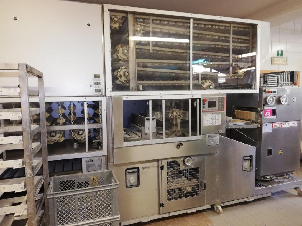 impianto per la produzione rosette / Machinen z...