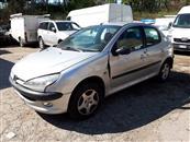 Autovettura Peugeot 206 1.4 HDI 5 posti XT, tar...