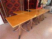 N. 20 tavoli in legno + vetrina + att...